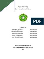 Paper Hematologi Retraksi Bekuan