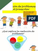 REsolución de problema sen el preescolar