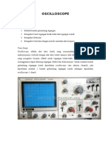Percobaan Oscilloscope