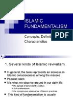 Islamic Fundamentalism Pp Present