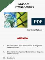 j.c.mathews Neg. Internacionales Presentacion