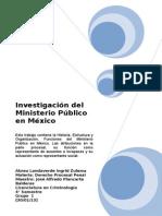 El Ministerio Publico Mexicano.