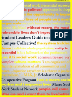 MSWSN Student Leader's Guide 2013-14