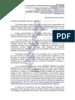 DECLARACION ELECCIÓN DEL NUEVO COMITÉ PARITARIO