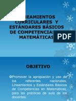 PRESENTACIÓN  DE MATEMÁTICAS