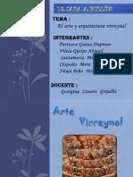 Arte y Arquitectura Virreynal (2)