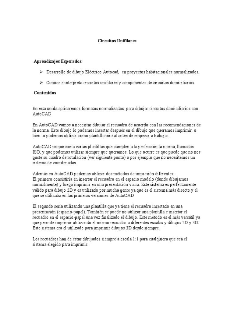 Circuito Unilineal : Modulo 04 circuitos unifilares
