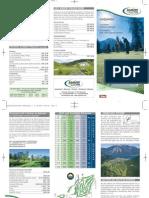Golf Folder Achensee