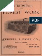1904-Instruments for Forest Work-Ne