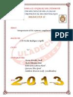 Medicina II Monografia Grupal V
