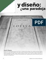 Arte y Diseño. Una Paradoja... - Revista Encuadre vol2_rev7_art1