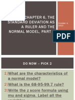 chapter 6 the standard deviation as a ruler and the normal model part 3