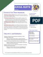 math lesson plan- october 7