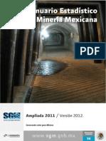 Anuario Estadistico Mineria Ampliada 2011