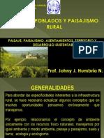Tema I. Centros Poblados y Paisajismo Rural