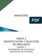 CLASE 11,12 y 13 (Fecha 24, 28 de Sept y 01 de Oct) Investigación de marketing e información de mercados