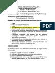 RELATÓRIO FINAL ESTÁGIO VII - LIC QUÍMICA