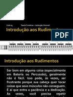 AULA 3 - INTRODUÇÃO AOS RUDIMENTOS