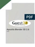 Apostila Blender 2.6