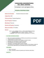 Terapia Respiratoria Bogota