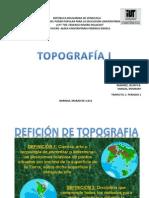 Introduccion a La Topografia