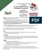 L Du B Tournament Info 2013