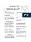 Credit Millionaire Enhancement