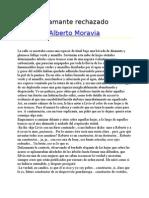 Moravia, Alberto .-. El amante rechazado