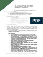 Minuta y Agenda de Trabajo 15 de Febrero 2011