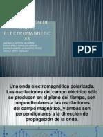 Polarizacion de Ondas Electromagneticas