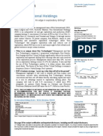 Rex International Holding - JPM