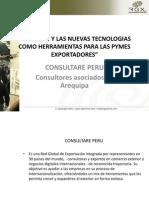 Seminario Internet y las nuevas tecnologías como herramientas de exportación