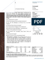 FB_ JPM Research Report_Oct 2012