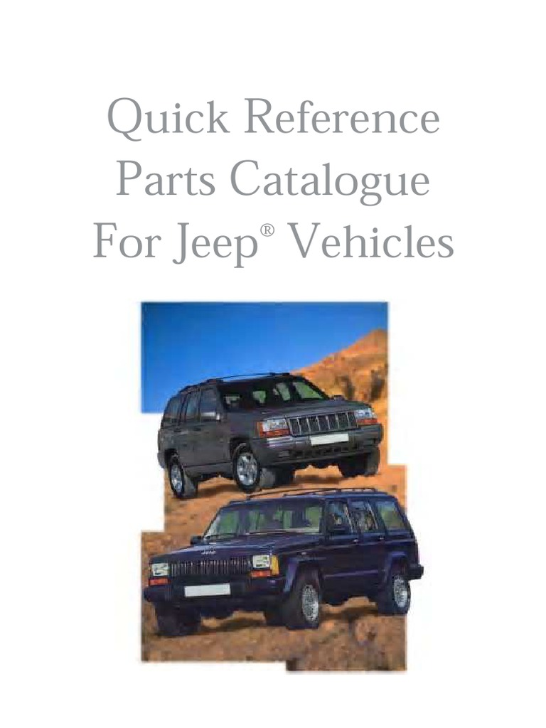 Jeep parts catalog 20 years complete xj yj zj cj jsj jeep parts catalog 20 years complete xj yj zj cj jsj brake motor vehicle fandeluxe Gallery