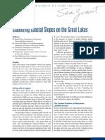 Stabilizing Coastal Slopes