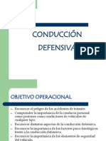 Conducción Defensiva