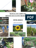 Manual del Método Biointensivo para  Nicaragua-El Salvador