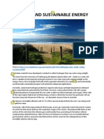 sun sea and sustainable energy sara atkinson  annotated