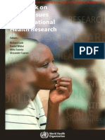Casebook on Etical Issues in IHR 1