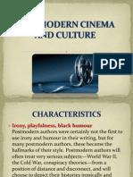 Postmodern Cinema and Culture Characteristics