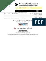 Metals Depot® Shopping Cart-USA