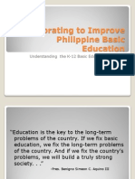 Collaborating to Improve Philippine Basic Education - O