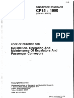 CP15 (1990) Installation, Operation and Maintenance of Escalators and Passenger Conveyors