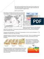 Notes Earthquakes