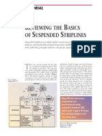 [MWJ0210] Reviewing the Basics of Suspended Striplines