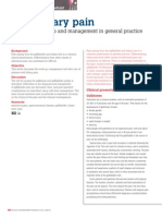 Biliary Pain Workup and Mx in GP