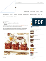 Prajitura Cu Crema de Ciocolata ~ Dulciuri Fel de Fel