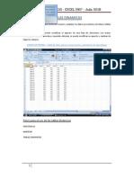 Pasos para el uso de las tablas dinámicas