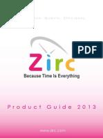 каталог ZIRC розовый 2013