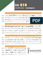 Wingdings Webdings Character Map Speakingppt